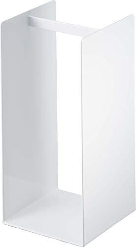 山崎実業(Yamazaki) ランドリー収納 ホワイト W14.5×D14.5×H30cm 4318