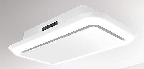 SILVERLINE Side Lighted SLUD 120 W Deckenhaube/Glas Weiß / 120 cm