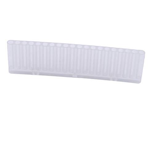 Yesiidor 20 Hole Box Display Box Machine Grinding Head Grinding Head Brush Pana Cone Tapered Polishing Tool Storage Case Nail Art Grinding Drill Bits Vide Box Storage Box for Nail Salon Nail Artists
