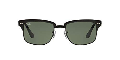Ray-Ban Men's RB4190 Square Sunglasses, Demi Gloss Black,Black & Crystal Green, 52 mm - http://coolthings.us