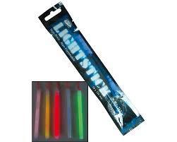 Cuchilleria Deportiva Barritas de luz quimica MIL-Tec. Pack 4 Unidades. Colores Variados. 10x15 mm