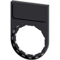 Schildträger flach,schwarz 3SU1900-0AG10-0AA0[10]
