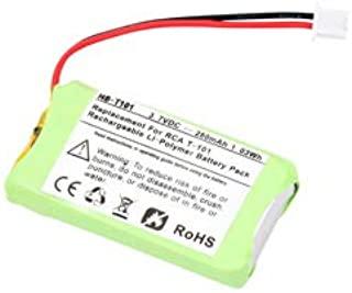 Replacement For Rca T-t101 Battery