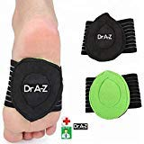 Dr A-Z Foot Arch Support Cushioned Plantar Fasciitis Foot Arch Insert - 2 PCs