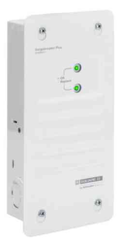 Square D by Schneider Electric SDSB80111 Surgebreaker Plus Whole House Surge Protector 120/240-volt with Cable, Telephone, and Ethernet Protection