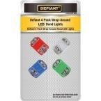 DEFIANT Mini LED Flashlights (Safety LED Light Set (4-Pack))