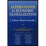 Alternatives to Economic Globalization - A Better World Is Possible (02) by Cavanagh, John - Mander, Jerry - Anderson, Sarah - Barker, Debi [Paperback (2002)]