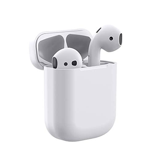 WLBH Auriculares inalámbricos, funda de carga True Wireless auriculares estéreo, HD Hi-Fi, control inteligente con un clic, micrófono incorporado, impermeable IP5 auriculares Bluetooth