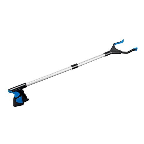 Grabber Reacher Tool for Elderly, 32' Long Reach Grabber Pick Up Tool, Foldable Litter Picker, Garden Nabber, Trash Grabber Tool for Home Garden