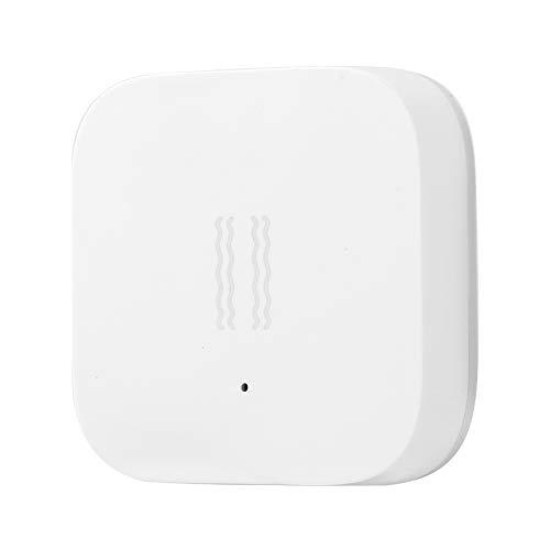 Smart Hub Domótica Automatización Sensor de Vibración Monitoreo para Hogar Dispositivos Inteligentes Protocolo Inalámbrico ZigBee Sensor de Choque para Seguridad del hogar Bajo Consumo Bajo Co