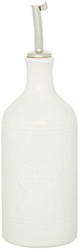 Emile Henry Eh110215 Huilier Céramique Blanc Farine 7,5 X 7,5 X 17,5 cm