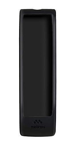 Meliconi Guscio 10 in silicone per telecomando TV Samsung, Nero