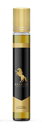 Aceite de perfume inspirado en NUIT TRESORE para mujeres en una botella enrollable. Opulencia árabe