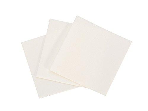 20 Pack of 2' x 2' Ultra-Polish Pads Set Jewelry Making Polishing Cloth Cleaning Metal Finishing Tarnish Removal Micro-Abrasive