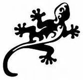 Lizard Gecko Tribal Art Car Truck Wall Window Vinyl Sticker Decal