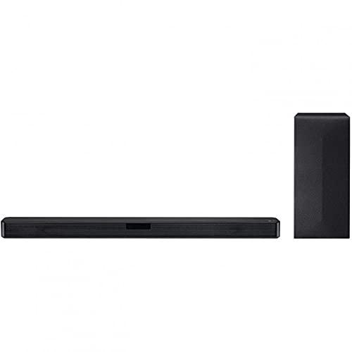 LG SN4R - Barra de Sonido 4.1 (420W de Potencia, DTS Virtual:X, subwoofer inalámbrico, Multi Bluetooth 4.0, HDMI, USB, Entrada óptica)