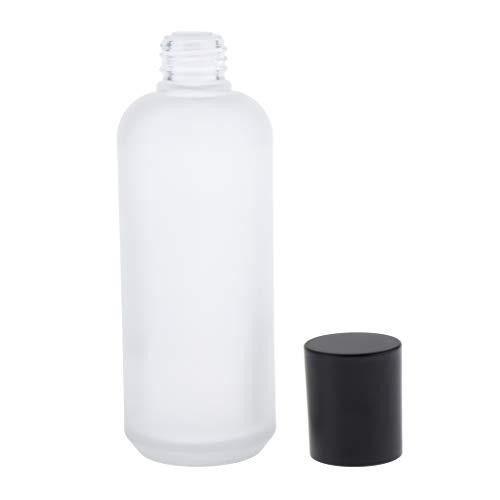 Perfeclan Bouteilles de Voyage Vide en Verre Flacons Liquide Conteneurs pour Maquillage Cosmétique, Articles de Toilette - 150ml