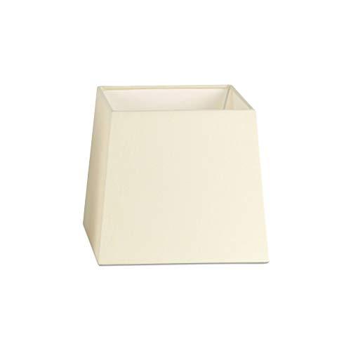 Faro FARO2P0422 - Pantalla cuadrada para lámpara de mesa, color beige