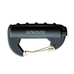 EL COMMUN(エルコミューン) CARABINER BATTERY カラビナ バッテリー ブラック