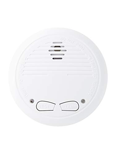 Design Rauchmelder von NO-FLAME, frühzeitiger Alarm durch fotoelektronisches Warnsystem, 1Stk. mit...