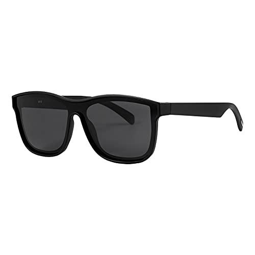 Ky Gafas Inteligentes Gafas Bluetooth Multifuncional Alta Fidelidad Tiempo De Espera Prolongado Protección Ocular Llamada Interna TWS Gafas De Sol De Audio para Conducir Negro
