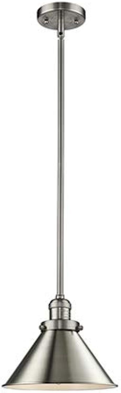 Innovations 201S-SN-M10-SN-LED 1 Light Vintage Dimmable LED Mini Pendant Brushed Satin Nickel