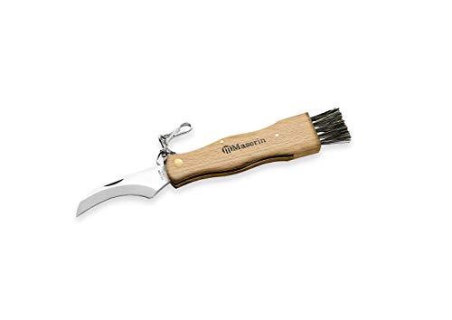 MASERIN 800 FA Couteau à Champignons, Bois, Manche 11 cm