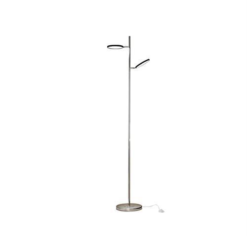 LDH Piso Moderno Estupendo de La Lámpara Luminosa Doble Dirigió La Vida Simple Lámpara de Pie Sala de Estudio Y de Lectura Moderna Lámpara de Pie