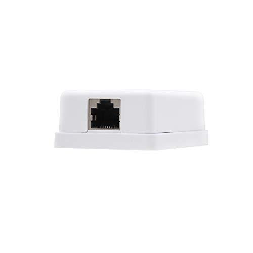 Oferta de NanoCable 10.21.1501 - Roseta de superficie RJ45 con 1 toma de conexión Cat.6 UTP, blanco
