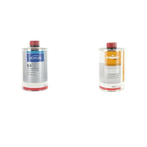 Set mit Yachtcare G4Holzgrundierung, Yachtcar,e 1L–und Polyurethan-Verdünnungsmittel für lack, G4,vonVosschemie