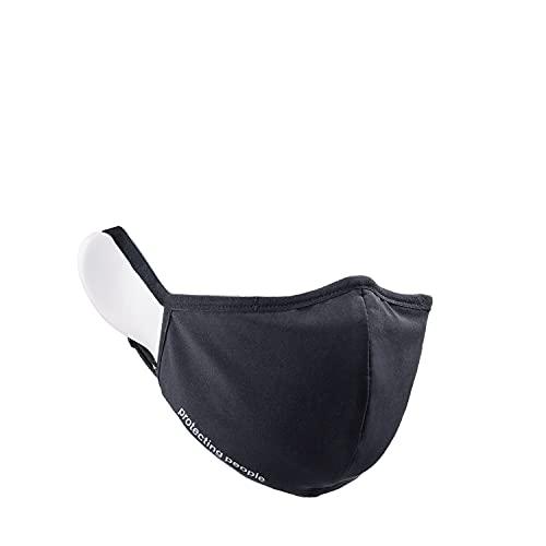 Uvex anti-virus face mask, antimikrobielle Gesichtsmaske, Unisex, Black, One Size