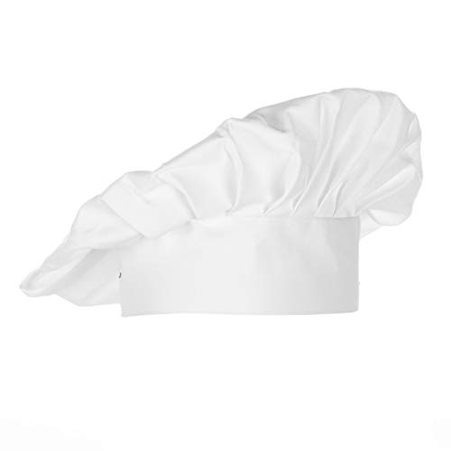 Chef Works unisex adult Chef Hat apparel accessories, White, One Size US