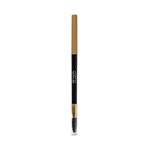 Revlon ColorStay Brow Pencil with Brush and Angled Tip, Waterproof 205 Blonde