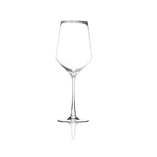 Einfachheit 450ml Cocktail Glas Rotweinglas Champagner Glas Kristallglas Stemware Glas Haushalt 6x23cm MUMUJIN (Color : A)