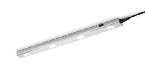 Trio Leuchten LED Wandleuchte Aragon 273170487, Kunststoff weiß, 4x 1 Watt