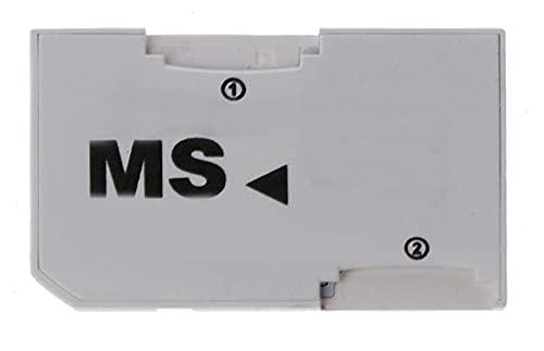 CMDZSW Adaptador Adaptador de Tarjeta de Memoria Adaptador Micro SD/TF a MS Pro Duo para Tarjeta PSP