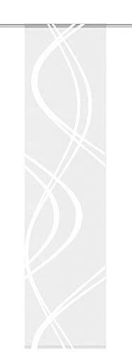 Home Fashion 87461–710wollweiß H: 245x B: 60cm Scherli–Panel japonés Voile