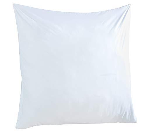 Kopfkissen Bettkissen Schlafkissen | 80x80 cm | Mikrofaser | Weiß