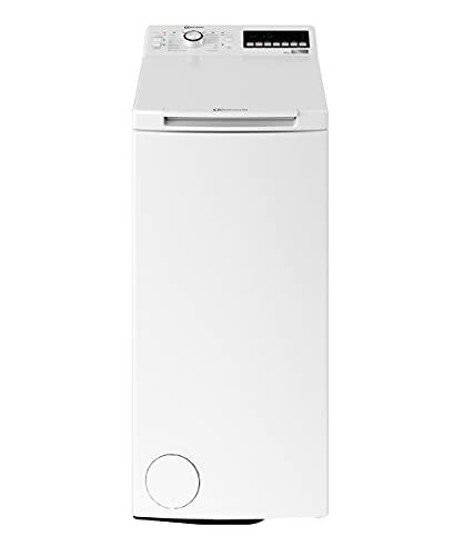 Bauknecht WMT ZEN 6 BD N Toplader-Waschmaschine / 6 kg / 1152 UpM /FreshFinish /ZEN Technology/Startzeitvorwahl/SoftOpening/ Kurz 30\'/ 15° Green& Clean