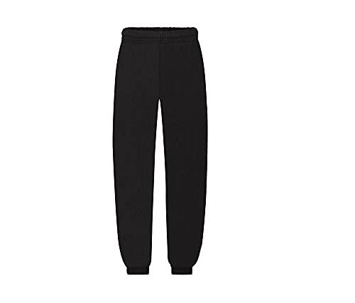 pantalone tuta FRUIT OF THE LOOM felpato con elastico e cordoncino in vita tasche ed elastico caviglie...