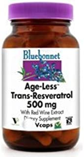 Bluebonnet - Age-Less Trans-Resveratrol 500mg 60vcap