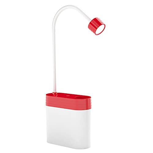 Luz de Noche, Multifuncional Luz Lectura Protección Ocular, Candado Lámpara Escritorio LED, Lámpara de Mesa, Flexo LED Escritorio