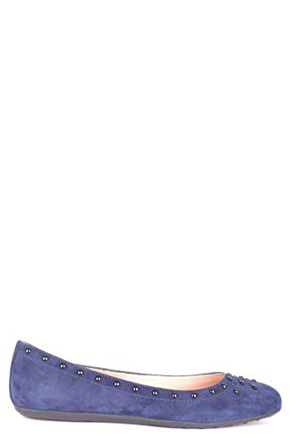 Luxury Fashion | Tod's Dames MCBI34837 Donkerblauw Suôde Ballerina's | Seizoen Outlet