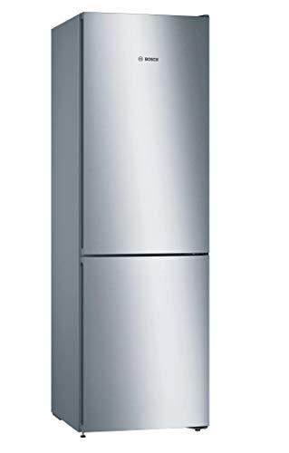 Bosch KGN36VIEA - Serie | 4 Frigorífico combinado de libre instalación, 186 x 60 cm, Acero inoxidable antihuellas