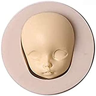 S.Han Silicone Baby Shower face Fondant Mould Gumpaste Mold Cake Decorating Tool Baking bakeware