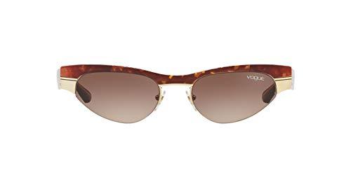 Vogue 0VO4105S Gafas de sol, Havana/Brushed Pale Gold, 51 para Mujer