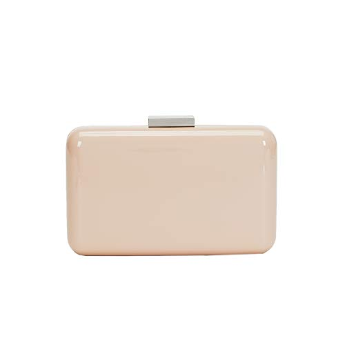 Parfois - Clutch - Bolso Caja Grease - Mujeres - Tallas M - Nude