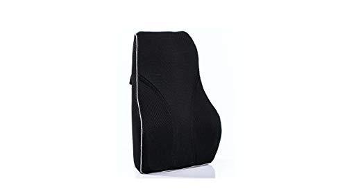 Medi Body Premium Rückenkissen aus Viskose Schaumstoff - mit Befestigungsgurt - Lendenkissen - Perfekter Sitzkomfort - Stützkissen für Lendenwirbel für Büro, Auto und Homeoffice - Lendekissen