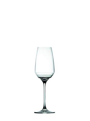 Zafferano Esperienze - Glasflöte, Weinverkostungs-Set, Hergestellt aus Kristallglas, cl 38 h 245mm d 76mm - Set 6 Stück