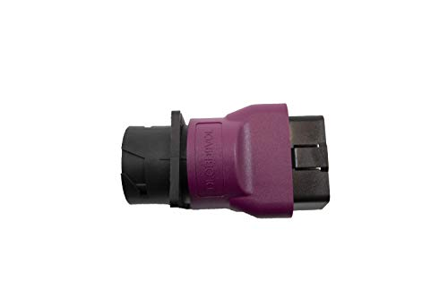 Diesel Laptops 9-Pin to Purple HD OBDII for Mack and Volvo Converter